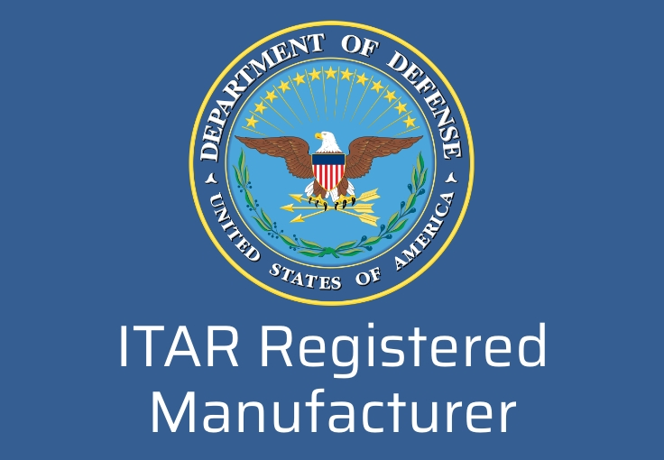 ITAR Registered Manufacturer